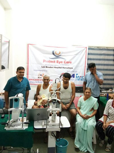 Project Eyecare - A telemedicine set up by Dr Agrawal in tribal area in India