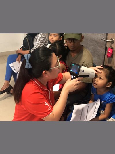 26th January Eye Screening Event